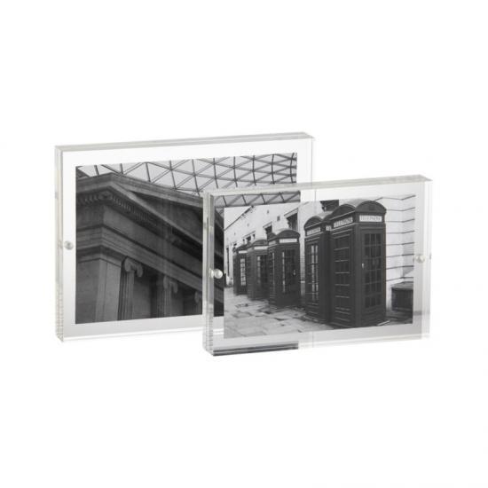 Marco De Acrílico Transparente De La Foto Del Maganet,marco De ...