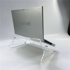 Wholesale Clear Clear Clear Acrylic P Laptop Stand for Office